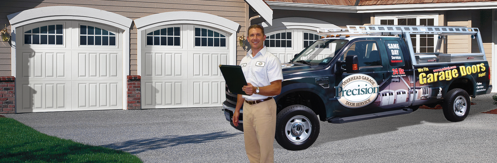 Precision Truck  sc 1 th 129 & Precision Garage Door Long Island | Repair Openers \u0026 New Garage Doors